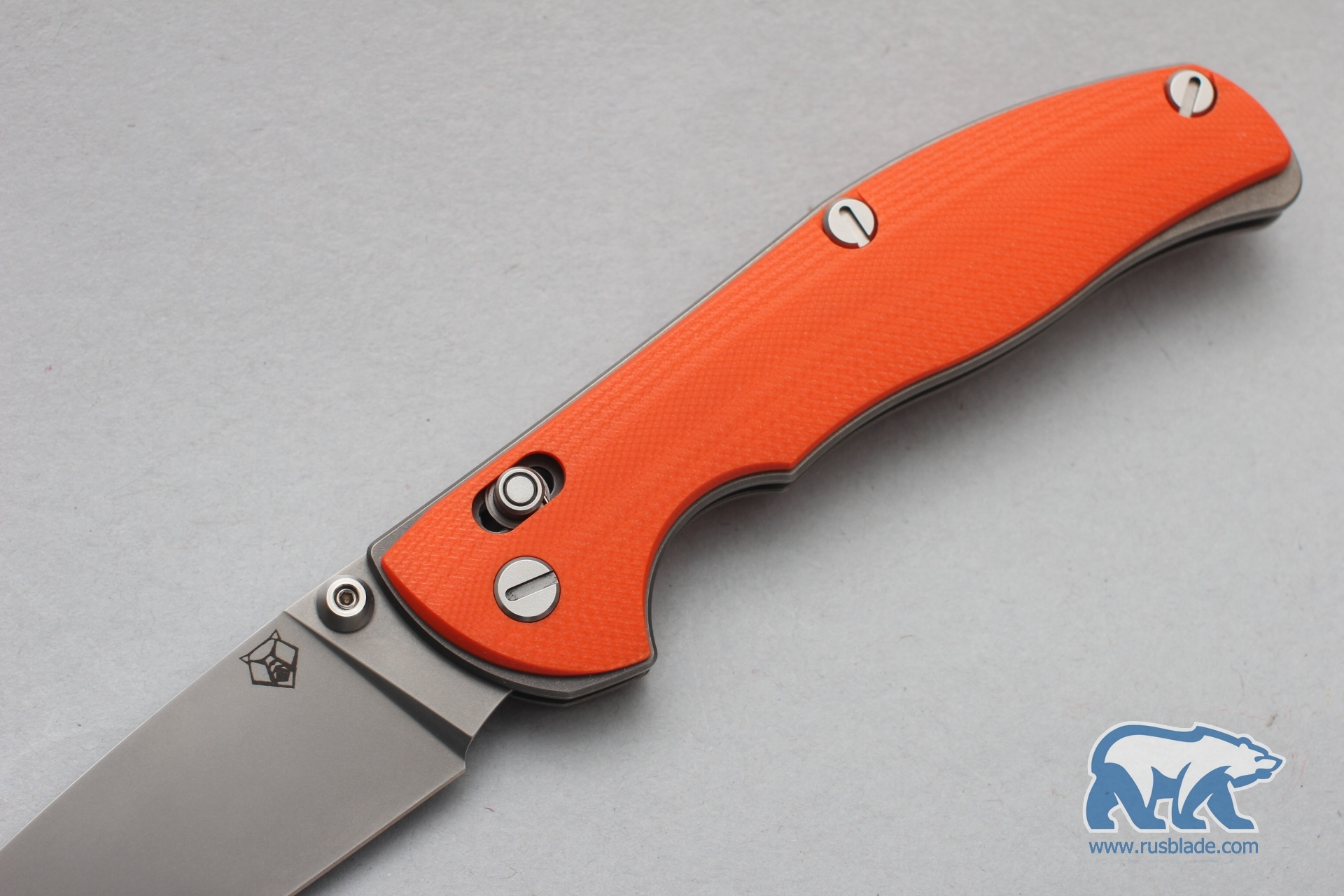 Shirogorov Tabargan 100NS S90V G10 3D orange - фотография