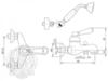Смеситель для ванны/душа Migliore Ermitage ML.ERM-7002.BI схема