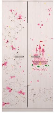 Шкаф для одежды Принцесса 1 Ижмебель лиственница сибио