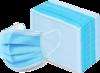 Упаковка масок косметических, трёхслойных (50 штук)