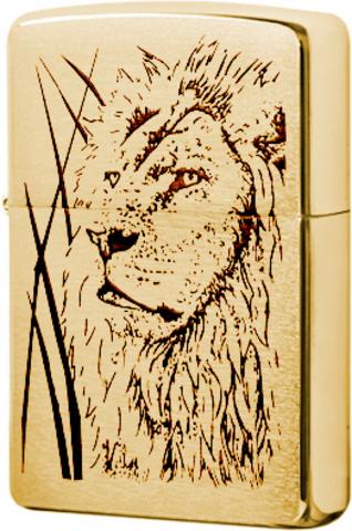 Зажигалка Zippo Proud Lion123