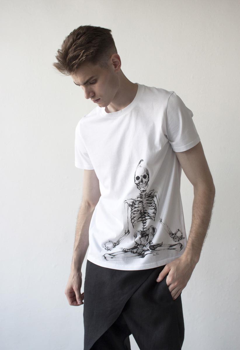 Мужская футболка «Йог»
