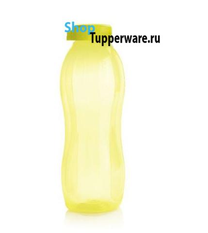 Бутылка эко 1.5л в желтом цвете без клапана