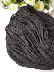 Черный Хлопковый шнур