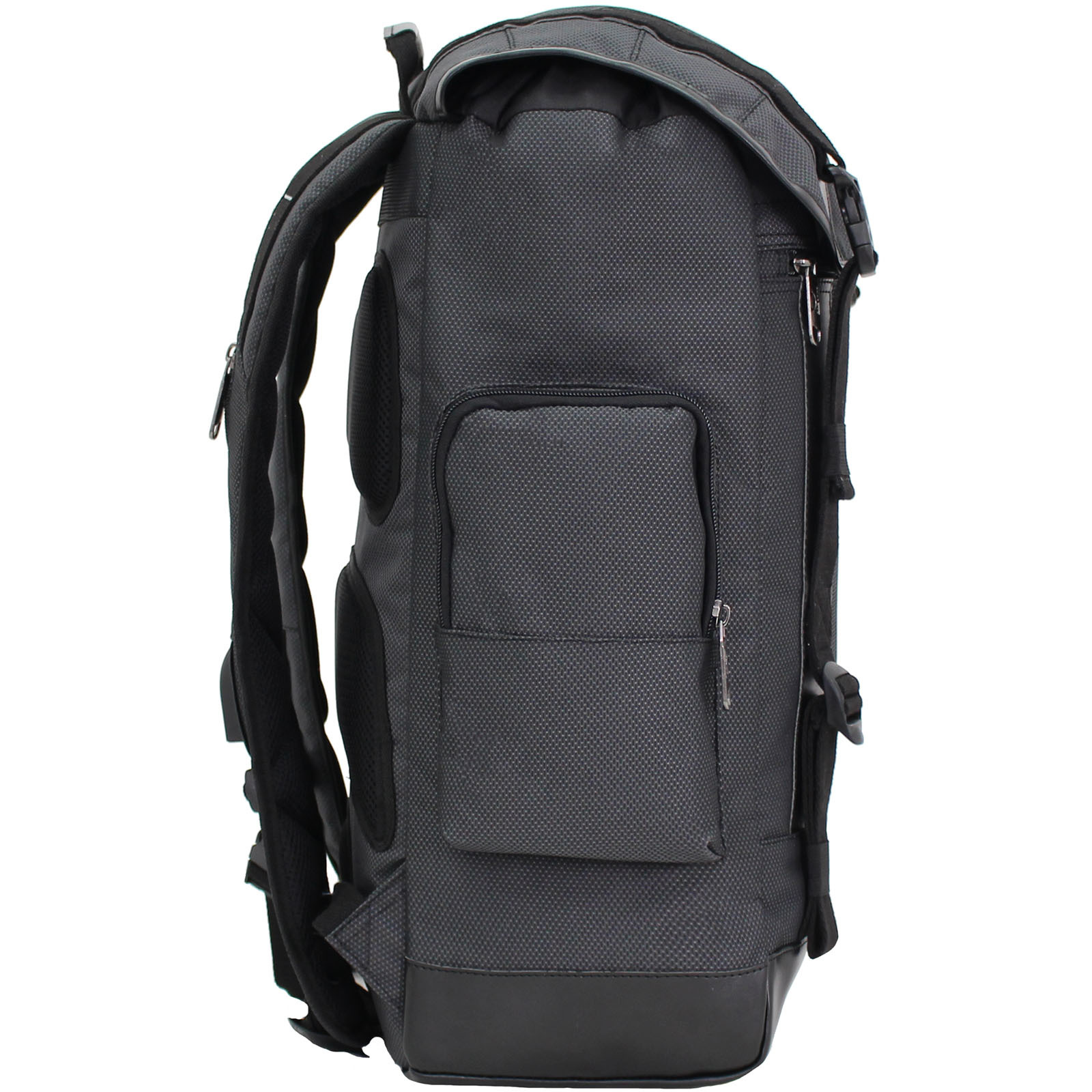 Рюкзак для ноутбука Bagland Palermo 25 л. Чёрный (00179169) фото 2