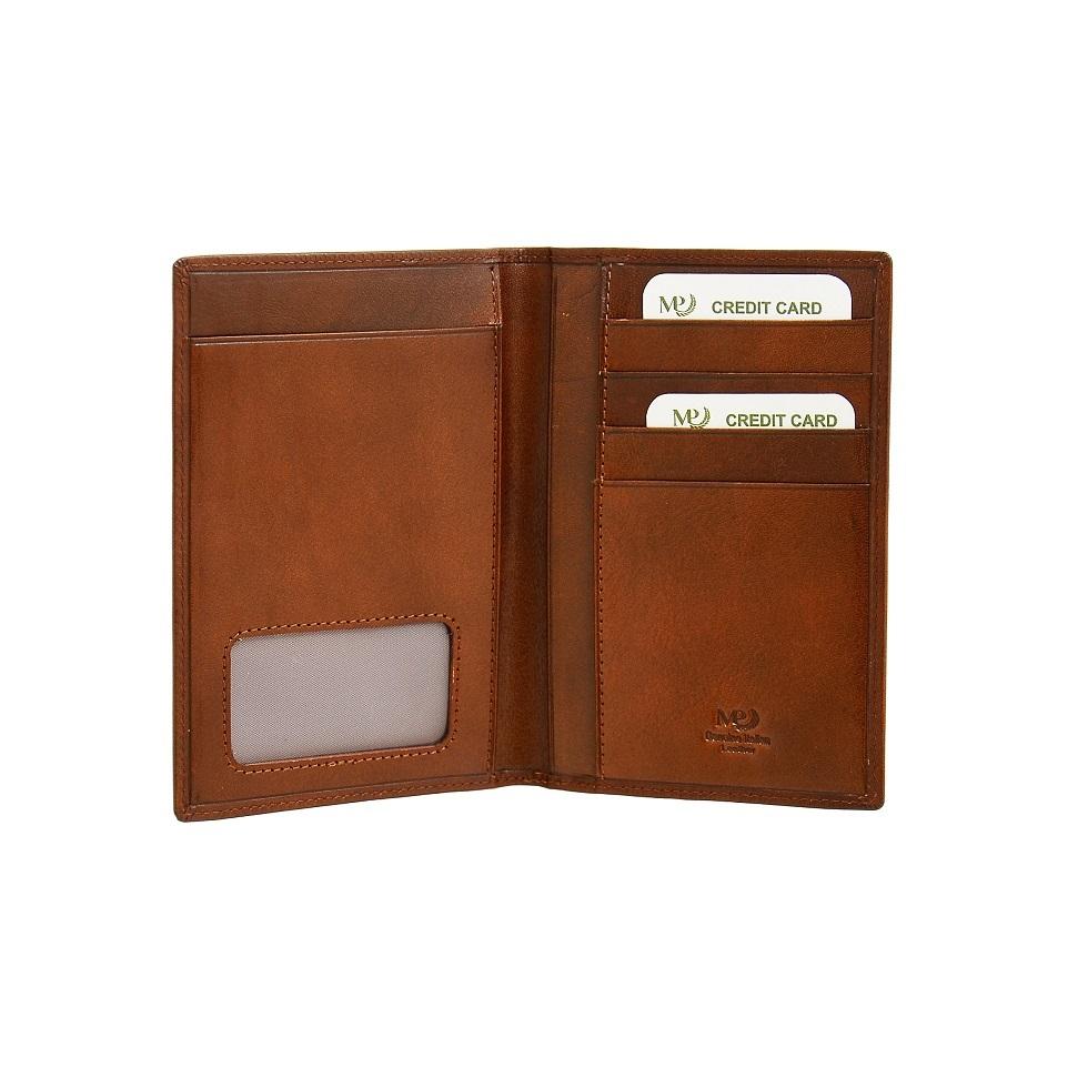 B120258R Cognac - Обложка для документов с RFID защитой MP