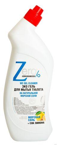 ZERO Гель для мытья туалета с морской солью 750 мл