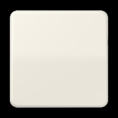 Выключатель одноклавишный проходного типа. 10 A / 250 B ~. Цвет Слоновая кость. JUNG CD. 506U+CD590