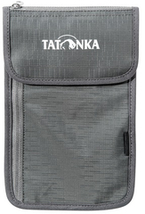 Кошелек Tatonka Neck Wallet titan grey