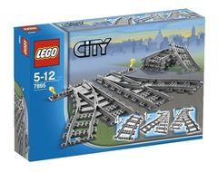 Lego Город Железнодорожные стрелки (7895)