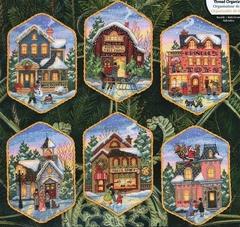 DIMENSIONS Christmas Village Ornaments (Рождественская деревушка)