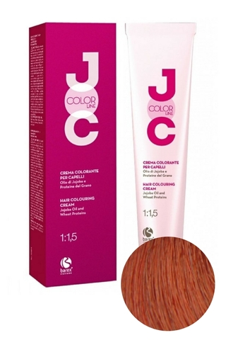 Крем-краска для волос 7.44 блондин медный интенсивный JOC COLOR, Barex