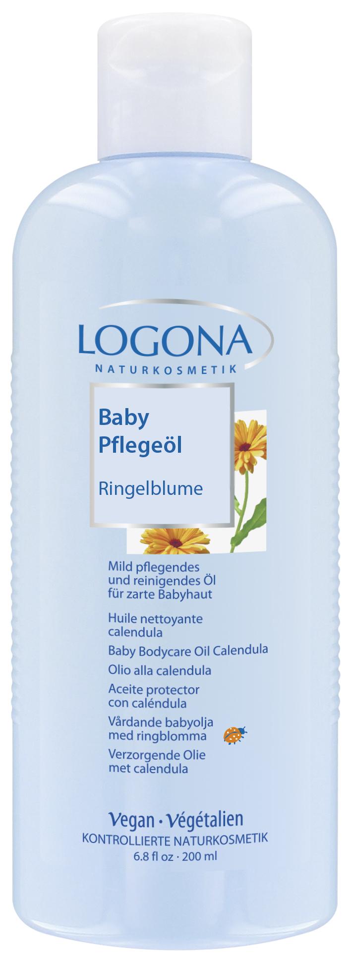 LOGONA Масло для младенцев с календулой