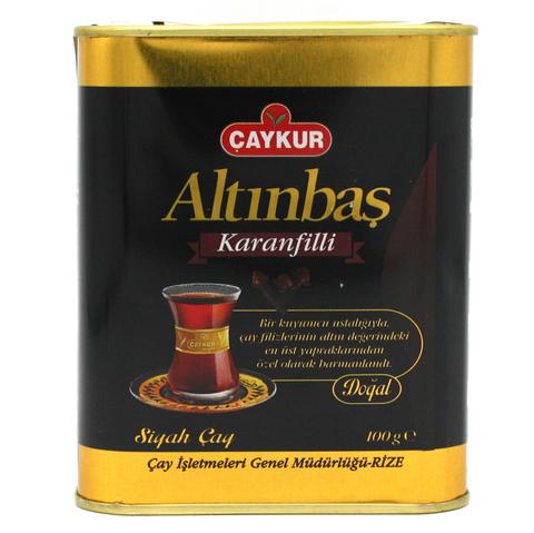 Турецкий черный чай с гвоздикой Altinbas, Çaykur, 100 г