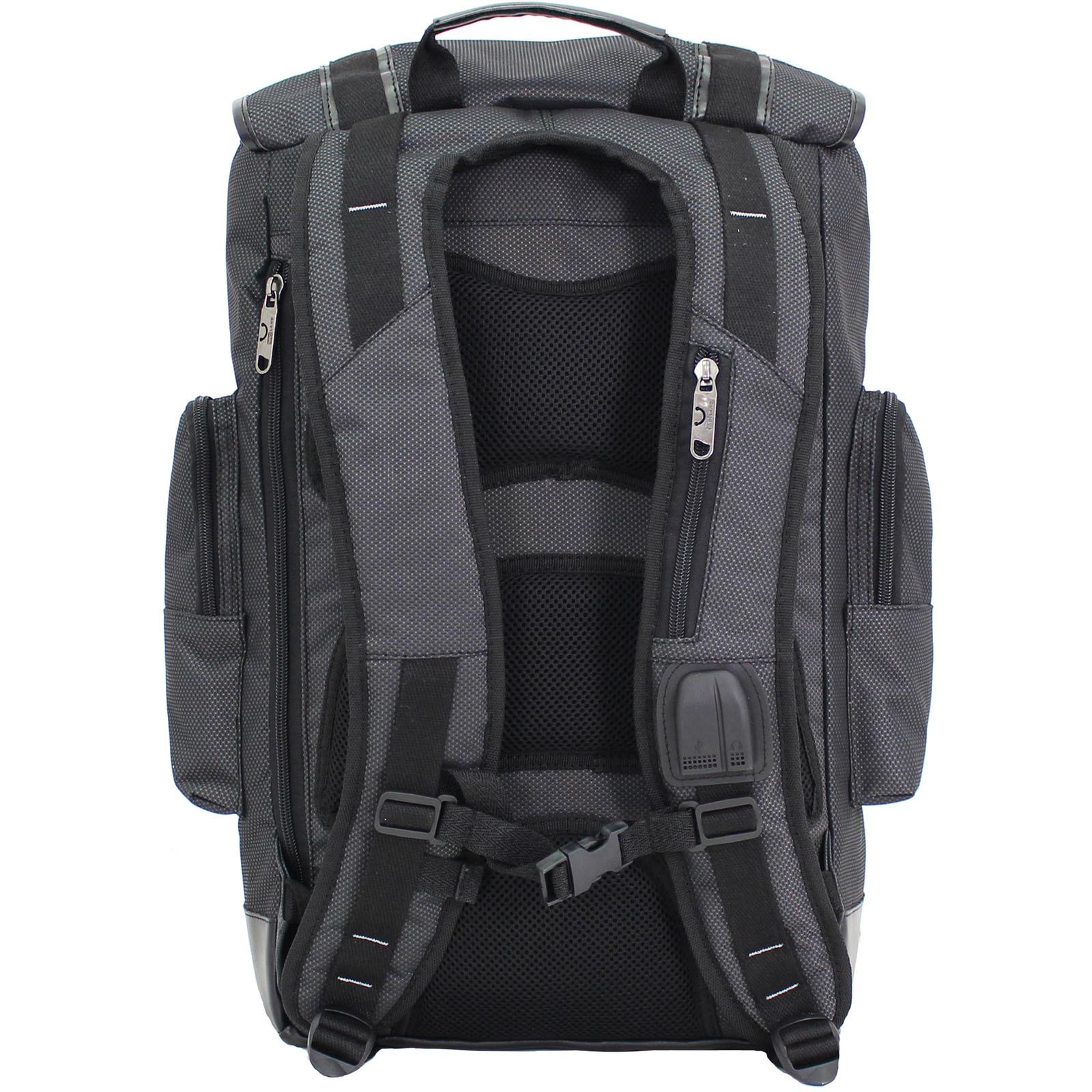 Рюкзак для ноутбука Bagland Palermo 25 л. Чёрный (00179169) фото 3