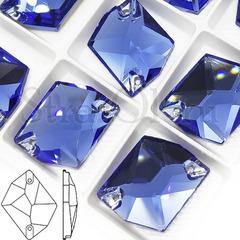 Выбрать и купить оптом пришивные стразы в Краснодаре Denim Blue голубые, Cosmic