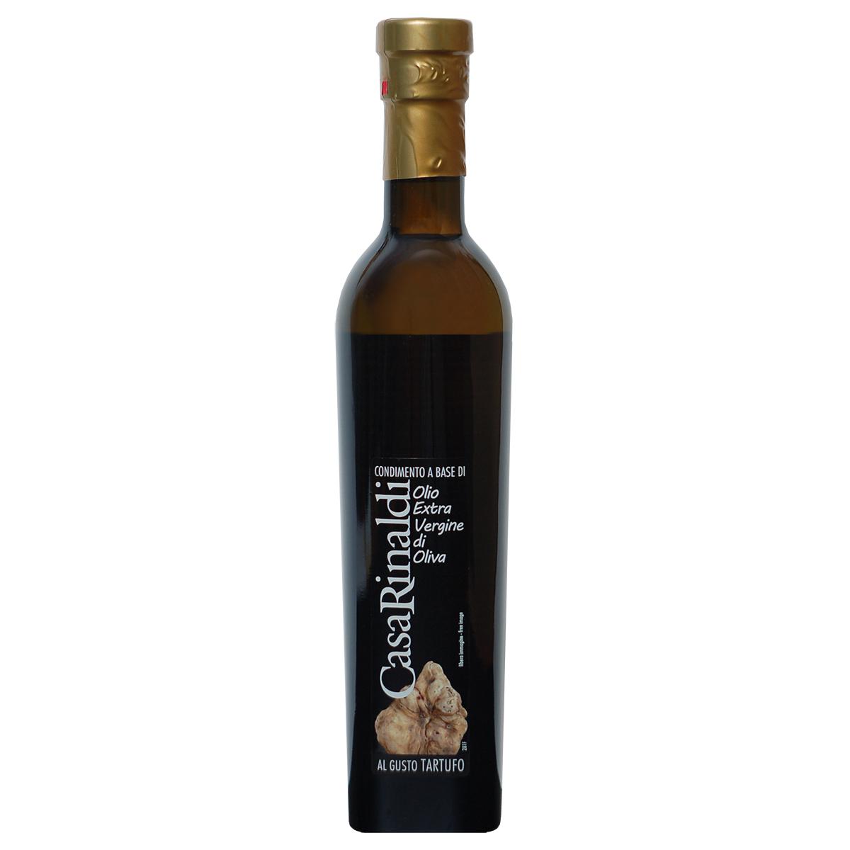 Масло оливковое нефильтрованное с белым трюфелем Extra Vergine Casa Rinaldi 250мл
