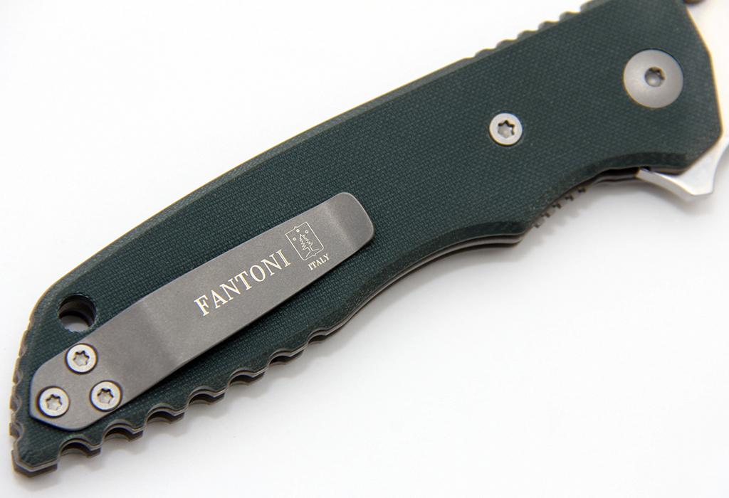 Нож Fantoni HB01 S30V зеленый - фотография