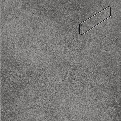 Interbau - Alpen, Anthrazit/Антрацит 310x73x8, цвет 058 - Клинкерный плинтус