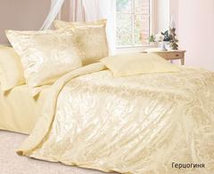 Жаккардовое постельное бельё семейное Герцогиня