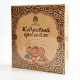 Конфеты Грильяж кедровый ассорти в шоколадной глазури 120 г