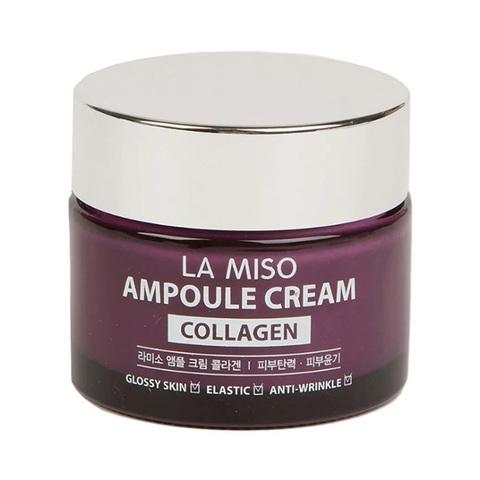 Ампульный крем для лица La Miso с коллагеном 50 гр