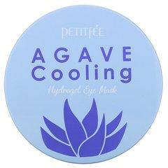 Petitfee Патчи гидрогелевые с экстрактом агавы - Agave cooling hydrogel eye mask, 60шт