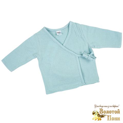 Распашонка муслин новорожденным (0-3) 210801-OP1316.1