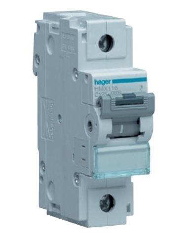 Автоматический выключатель 1P 50kA C-16A 1.5M