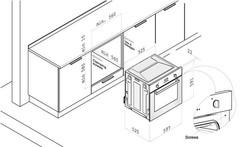 Встраиваемый духовой шкаф Korting OKB 561 CFX схема
