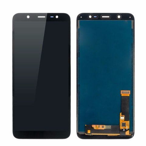 LCD SAMSUNG J8 2018 J810F + Touch Black Orig