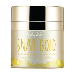 Антивозрастной омолаживающий крем с лифтинг-эффектом SNAIL GOLD CATHY DOLL