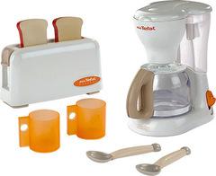 Набор для завтрака Smoby mini TEFAL (тостер + кофеварка) (24550)
