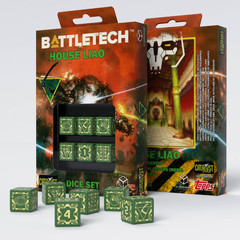 Battletech House Liao D6 Dice set (6)