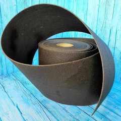 Лента бордюрная  75 см, толщина 2 мм, в рулоне 10 метров, коричневая