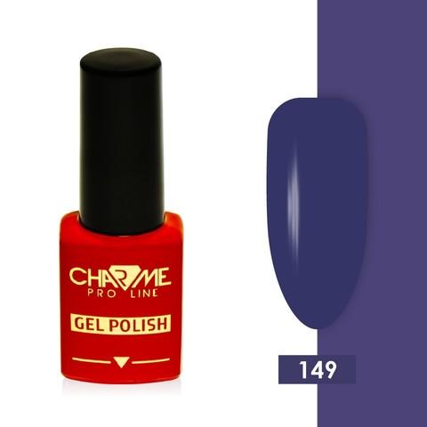 Гель-лак 149 - синий пурпурный Charme 10 мл