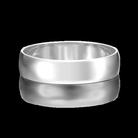 01-4274-00-000-2100-45 - Обручальное кольцо из платины 950 пробы, ширина 5 мм