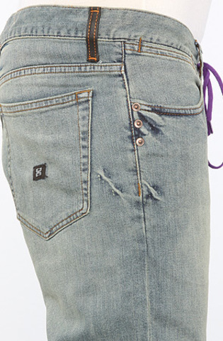 Джинсы на шнурке мужские фото 5
