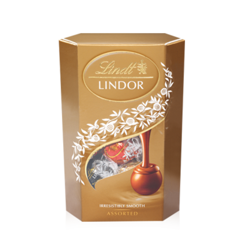 Şokolad \ Шоколад \ Chocolate Lindor Milk Truffles Assorti 200g