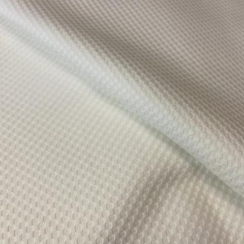 Мерный лоскут 1,1 м хлопок пике белый 2015