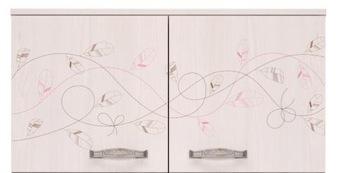 Антресоль к шкафу для одежды Принцесса 2 Ижмебель лиственница сибио