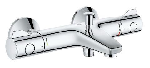 Смеситель для ванны с душем Grohe Grohtherm 800 34576000 двухрычажный с термостатом хром (34576000)
