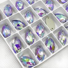Стразы пришивные купите в магазине: Navette Light Violet AB