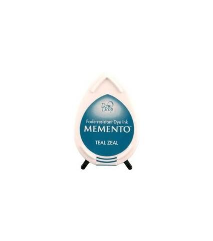 Штемпельная подушечка mini - MEMENTO - Teal Zeal