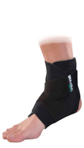 86511 Mueller Green Adjustable Ankle Support,Регулируемый фиксатор на голеностопный сустав , Черный, один размер