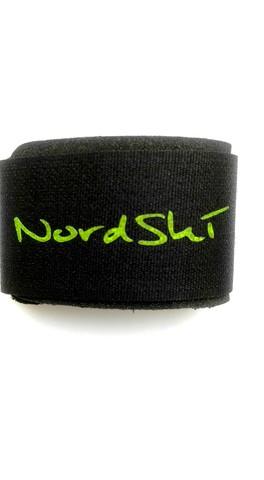 Липучки для лыж Nordski Black/Yellow