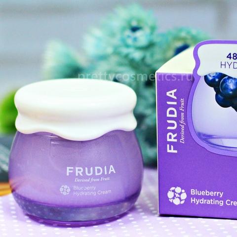 Frudia Blueberry Hydrating Cream Фрудиа Увлажняющий крем с черникой
