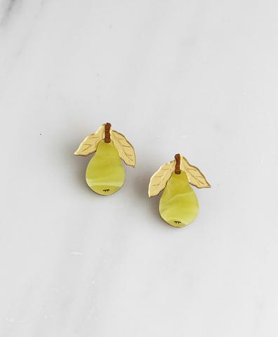 Серьги mini Pear