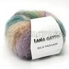 LANA GATTO Silk mohair print 9204