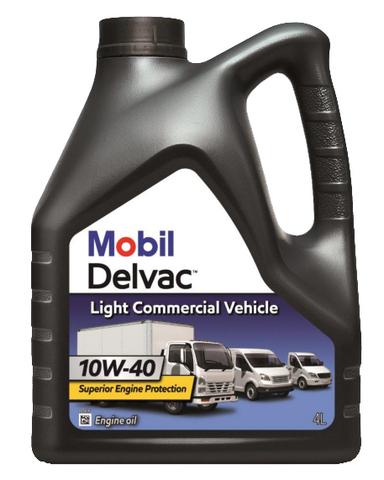 153745 MOBIL DELVAC LIGHT COMMERCIAL VEHICLE 10W-40 масло для коммерческого транспорта 4 Литра купить на сайте официального дилера Ht-oil.ru